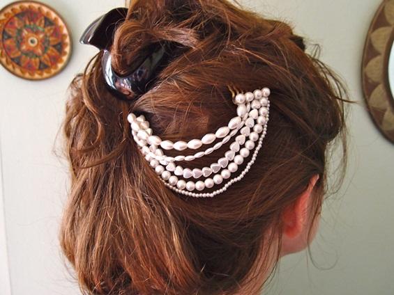Прекрасни украси за коса кои можете да ги направите сами