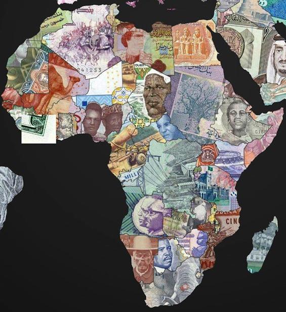 Мапи на светот направени со парите од државите