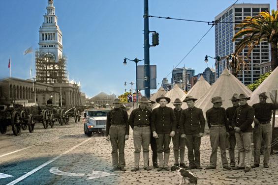 Сан Франциско некогаш и денес претопен во маестрални фотографии