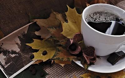 Есенска кафе-позадина за вашиот десктоп #2