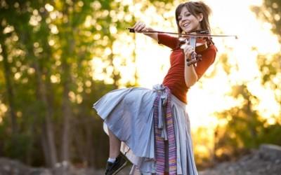 Исклучително талентираната виолинистка Линдзи Стирлинг - г