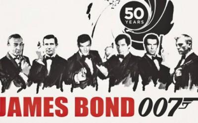 Компилација за одбележување 50 години од првиот филм за Џејмс Бонд