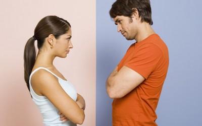 Повредено женско его vs. повредено машко его