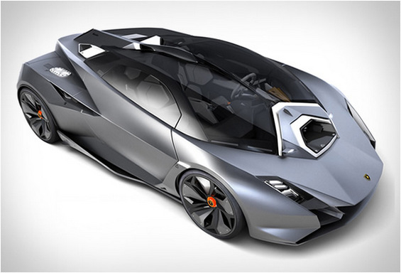 Ламборгини или возило од научно-фантастичните филмови?
