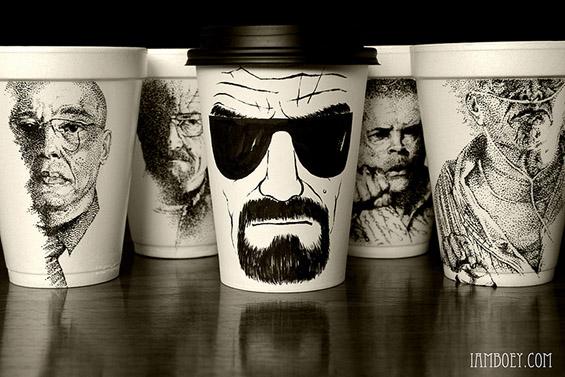 Чаши за кафе кои ја будат креативноста