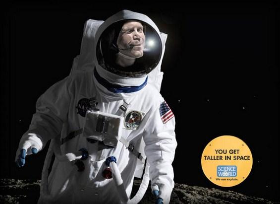 Билборди со фасцинантни научни факти