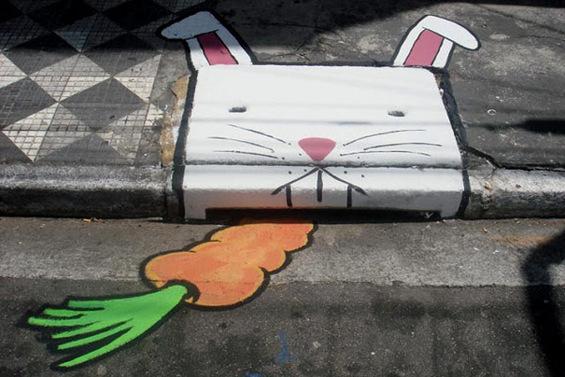 Весела урбана уметност
