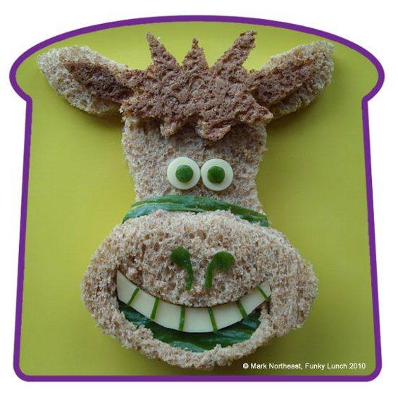 Татко создава смешни фигури од храна за своите деца и за целиот свет