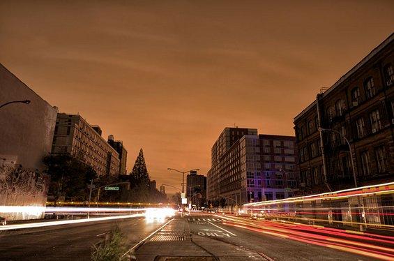 Њујорк во досега невидено светло