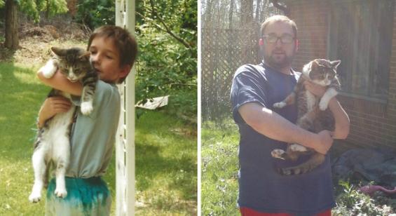 Кога децата и животните растат заедно...