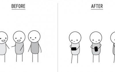 Животот пред и после појавата на мобилните телефони