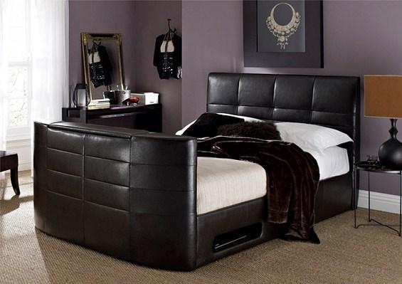 Брачни кревети со вграден телевизор