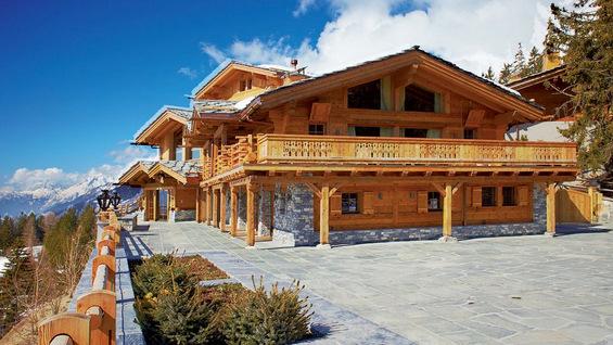 Луксузен спа центар на Алпите
