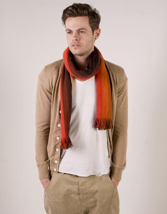 Шалот како моден додаток за мажи во 10 различни стилови на врзување
