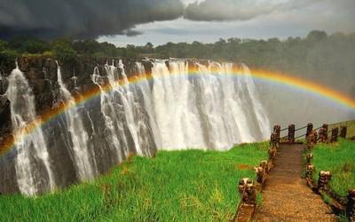 Дружбата меѓу виножитото и Викторините водопади