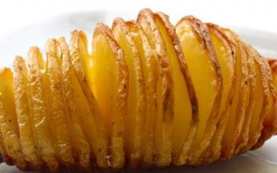 Крцкави печени компири со посебен шмек