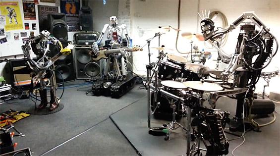 Денот кога роботите ја преземаа метал музиката
