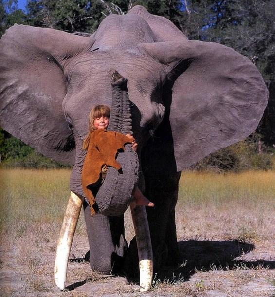 Типи – девојчето чии најдобри другари се дивите животни од Африка