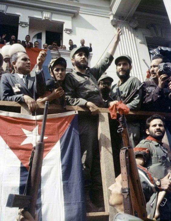 Фотографии од крајот на револуцијата во Куба