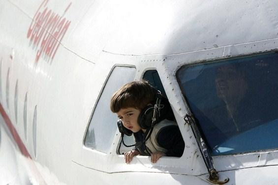 Авион трансформиран во детска градинка