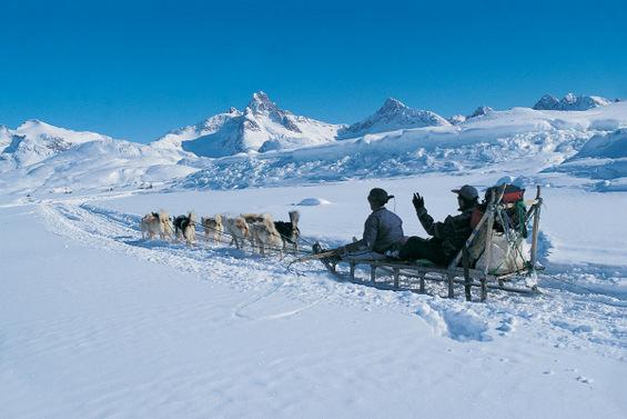 Зимска прошетка по Гренланд