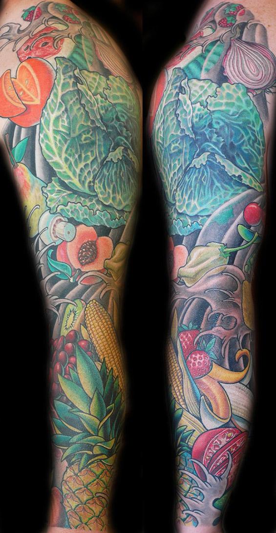 Луди тетоважи посветени на храна