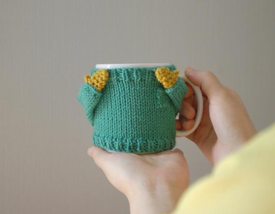 Фраерско џемперче за вашата шолја за кафе