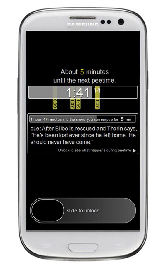 Пауза за WC: апликација која ви најавува кога доаѓаат досадните сцени од филмот