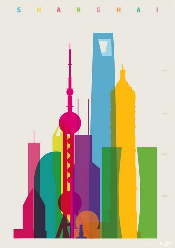 Интересни постери со обележјата на светските метрополи