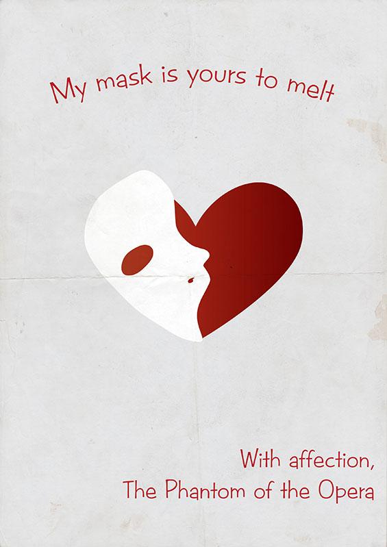 """Честитки за """"Св. Валентин"""" инспирирани од чудовиштата во класичните филмови"""