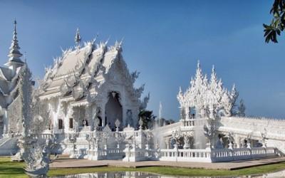 Белиот храм - спој на будизам и надреална уметност