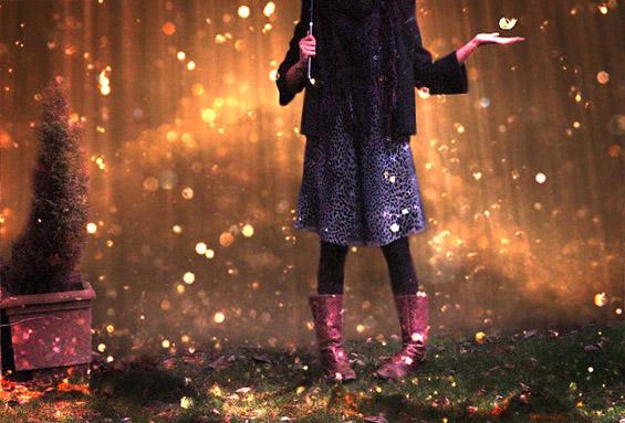 Поезија: Сама на дождот