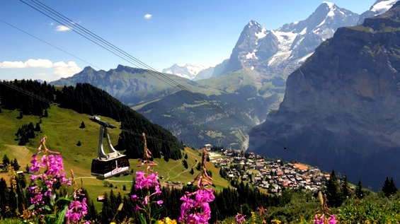 9 идилични села во Швајцарија