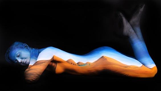 Совршени боди арт илузии
