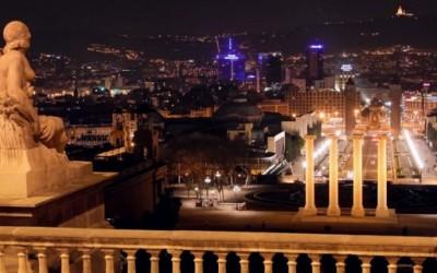 Барселона ноќе