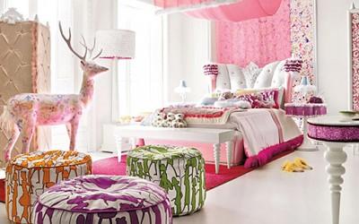 Креативни идеи за уредување на розови соби