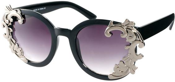 Шик очила за сонце со впечатливи декоративни елементи