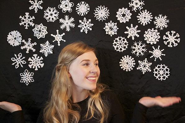 Направете сами прекрасни хартиени снегулки