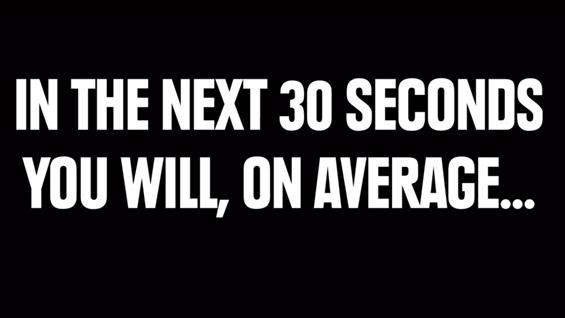 (1) Што сè прави вашето тело за само 30 секунди?