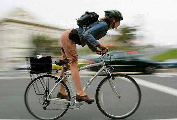 Придобивките од одењето со велосипед на работа