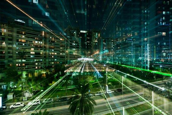 Блескотот на урбаните градови