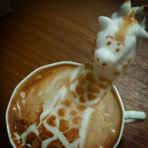 Уживајте во шолја 3Д кафе