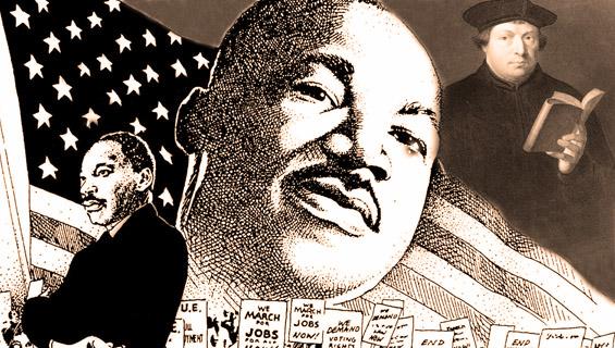 (01) Мартин Лутер vs. Мартин Лутер Кинг Јуниор