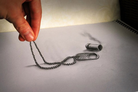 Црно-бели 3Д цртежи кои ја поместуваат границата на реалноста