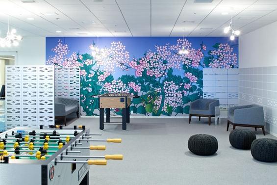 """(15) Канцелариите на """"Гугл"""" во Токио"""