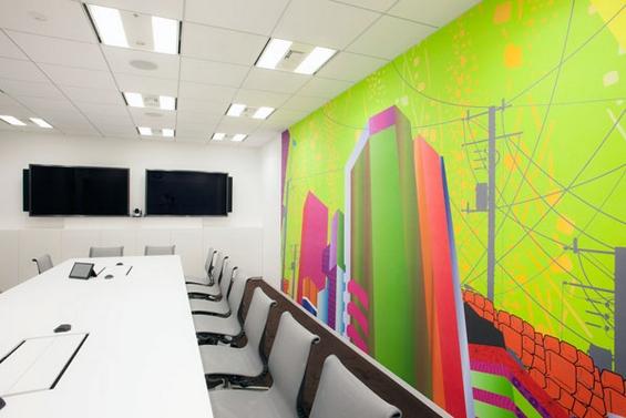 """(16) Канцелариите на """"Гугл"""" во Токио"""