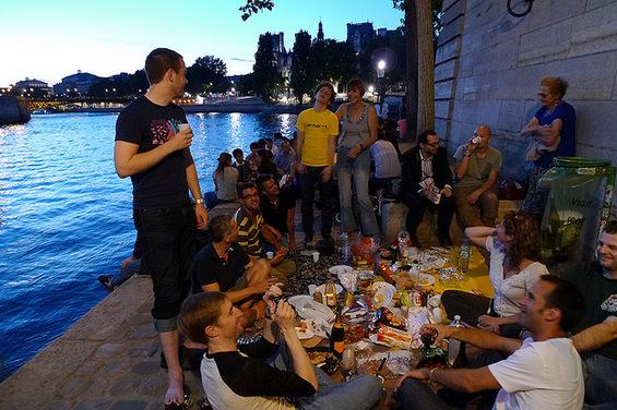 На пикник во Париз