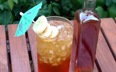 Домашен ликер од рум и банани