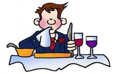 Како да дадете одредени сигнали со приборот за јадење кога јадете во ресторан?