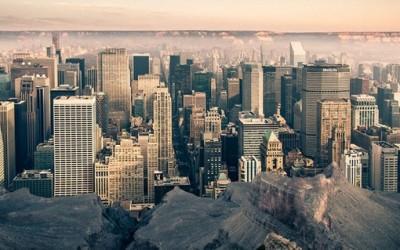 Кога Менхетн би се наоѓал во Големиот Кањон